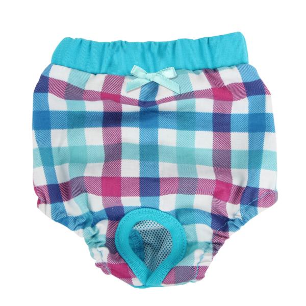 Purity Dog Sanitary Pants by Puppia - Aqua