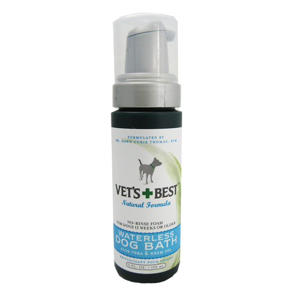 Quick Clean Waterless Dog Shampoo