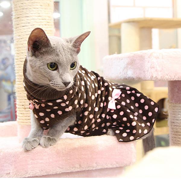 Rachel Cat Dress by Catspia - Brown