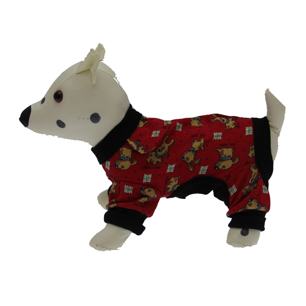Red Le Chien Dog Pajamas