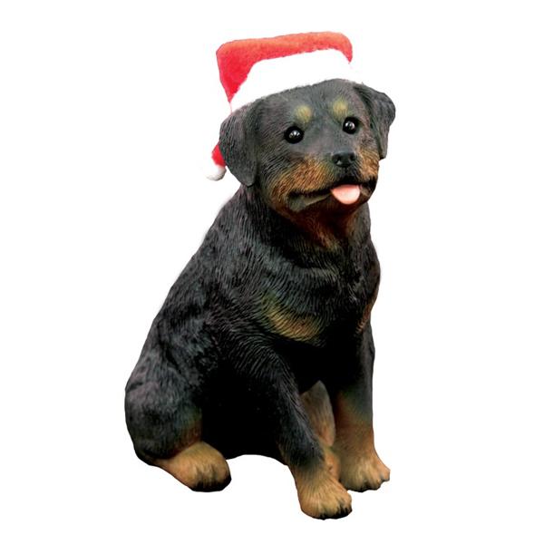 Rottweiler Christmas Ornament - Sitting