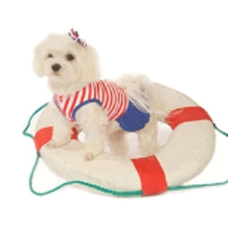 Sailor Girl Tank Dog Dress