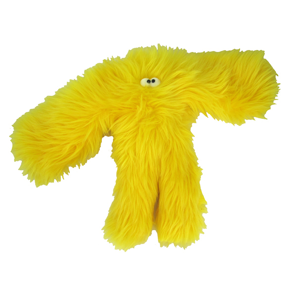 Salsa Dog Toy - Yellow