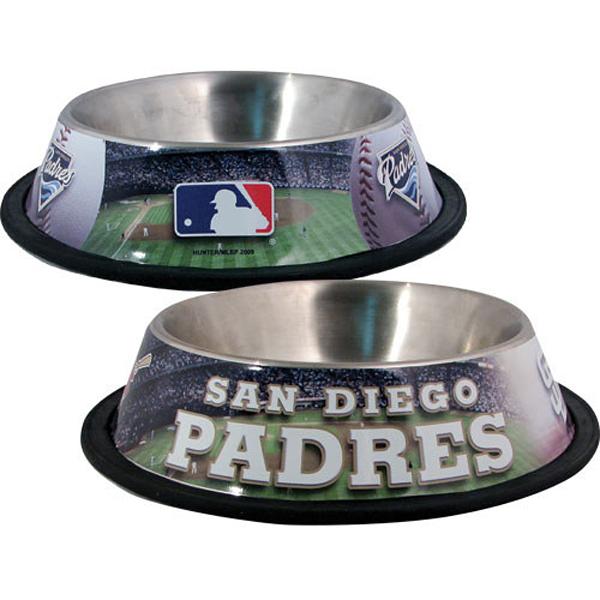 San Diego Padres Dog Bowl