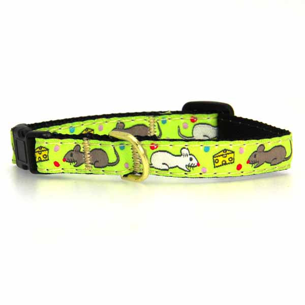 Say Cheese Cat Collar by Up Country