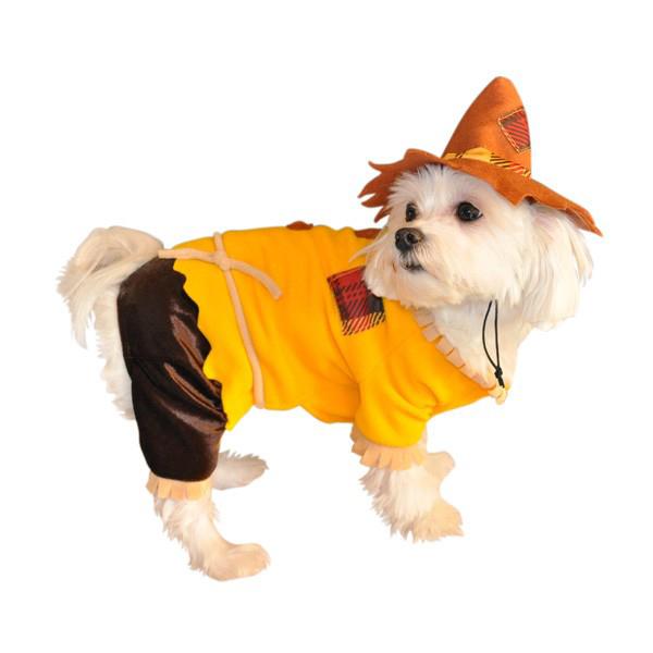 Scarecrow Halloween Dog Costume
