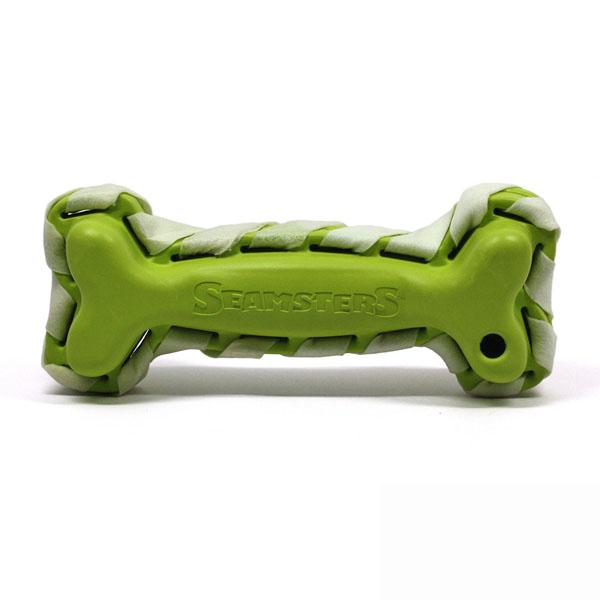 Seamsters Rubber/Rawhide Green Bone