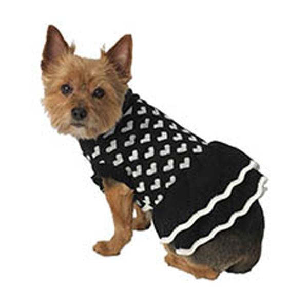 Sera's Sweater Dress - Black
