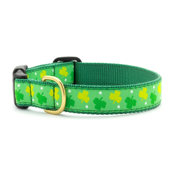 Shamrock Dog Collar by Up Country