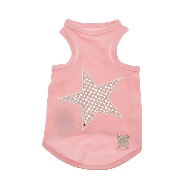 Shining Star Dog Tank Top - Pink