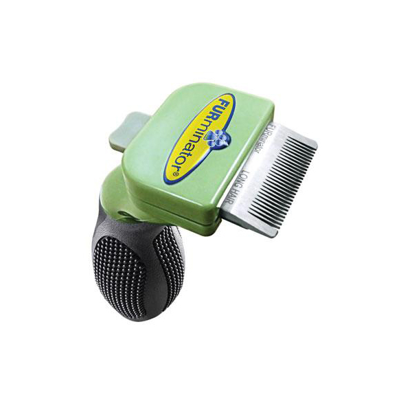Short Hair FURminator for Toy Dogs - Light Green