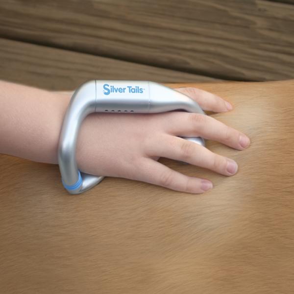 Silver Tails Hand-Held Senior Dog Massager