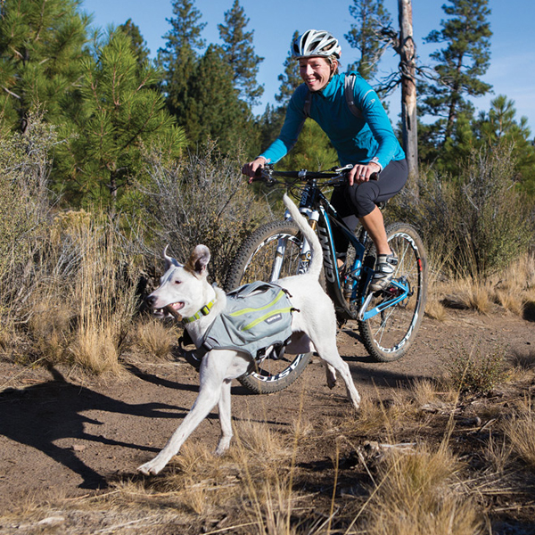 Singletrak Hydration Dog Pack by RuffWear - Cloudburst Gray