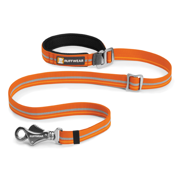 Slackline Adjustable Dog Leash by RuffWear - Burnt Orange
