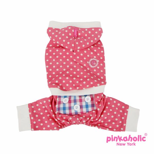 Sleepover Dog Pajamas by Pinkaholic - Pink