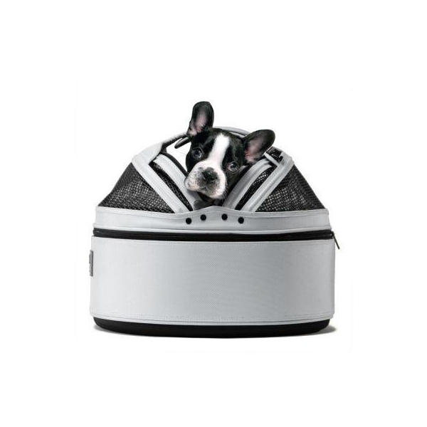 Sleepypod Mobile Pet Carrier Bed - Arctic White