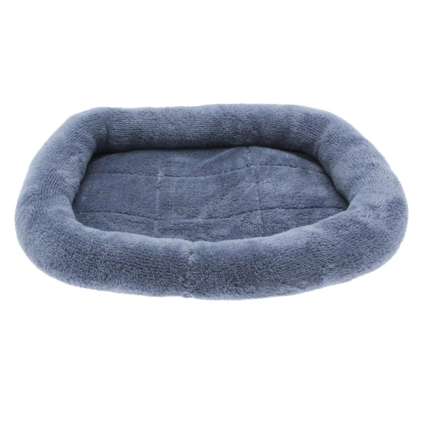 Slumber Pet Comfy Crate Dog Bed - Blue