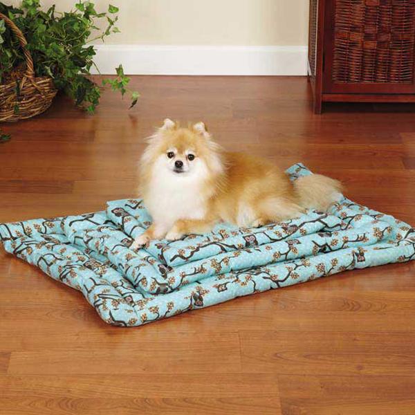 Slumber Pet Hoot and Howl Canvas Dog Mat