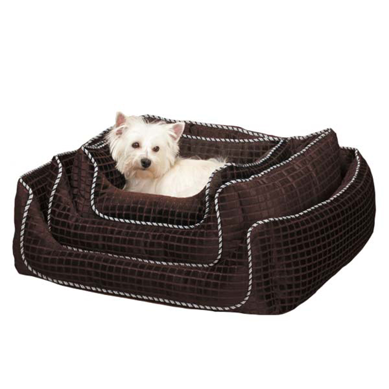 Slumber Pet Quilted Square Nesting Pet Bed