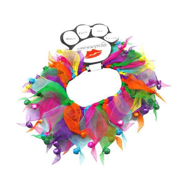 Smoochers Pet Scrunchie - Confetti Bells