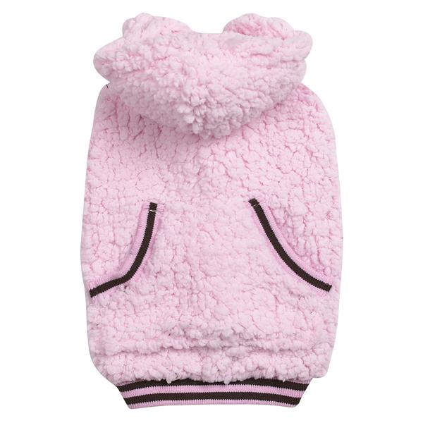 Snowbaby Dog Hoodie - Pink