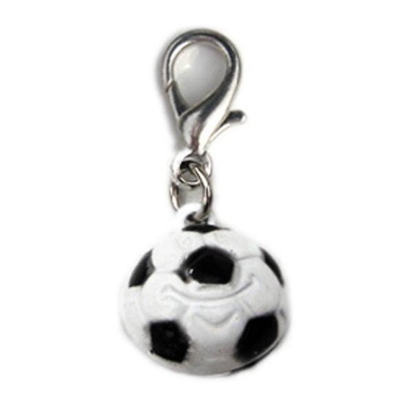 Soccer Ball Dog Collar Charm