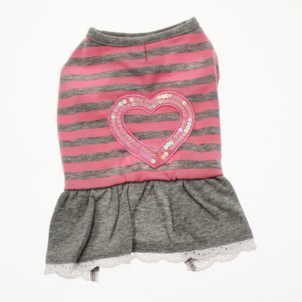 Sparkling Heart Dog Dress by Dogo