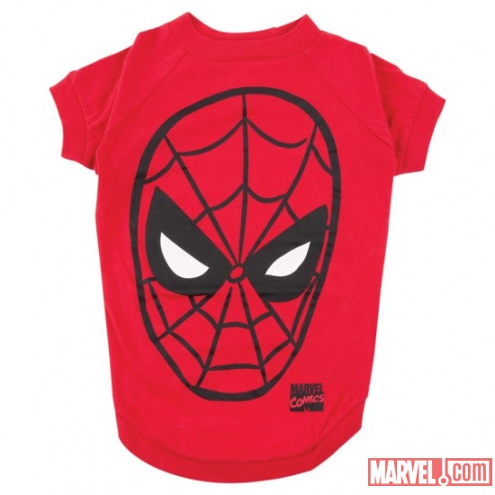 Spider-Man Face Dog T-Shirt