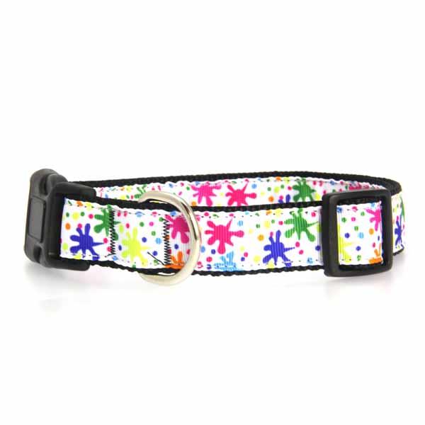 Splatter Paint Dog Collar