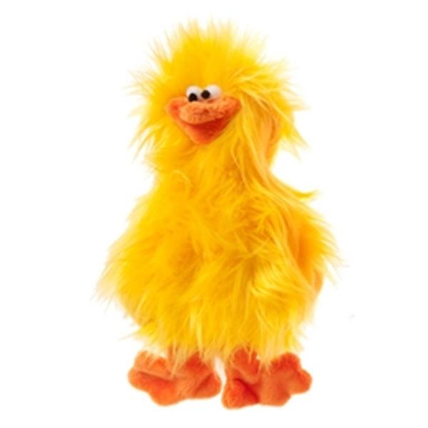 Spring Chicken Dog Toy - Lemon