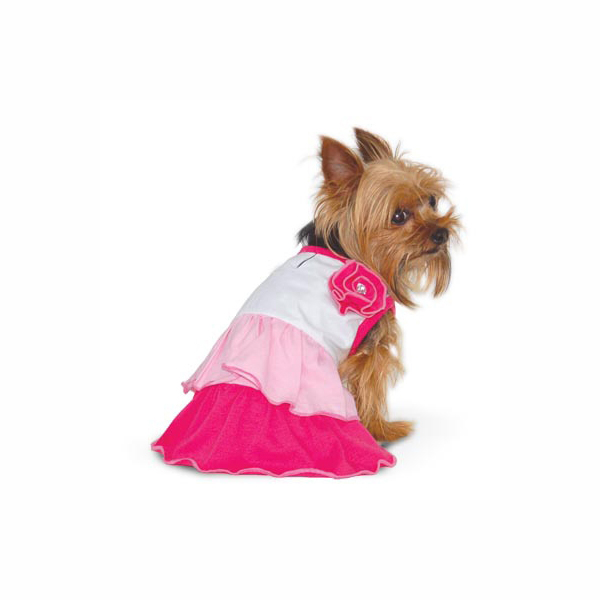 Spring Dog Dress by Dogo - Pink
