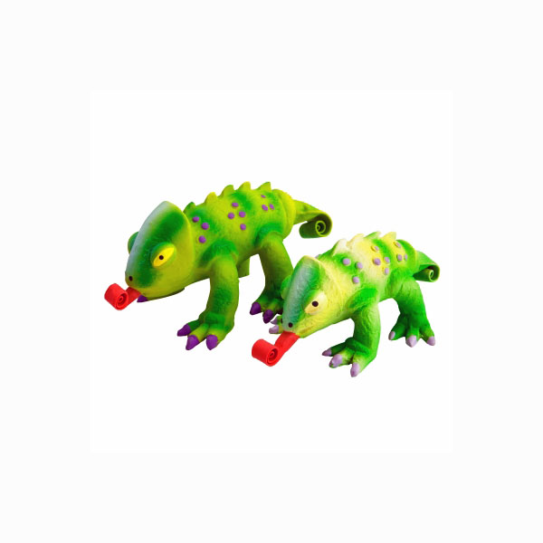 Squeeze Meeze Chameleon Dog Toy