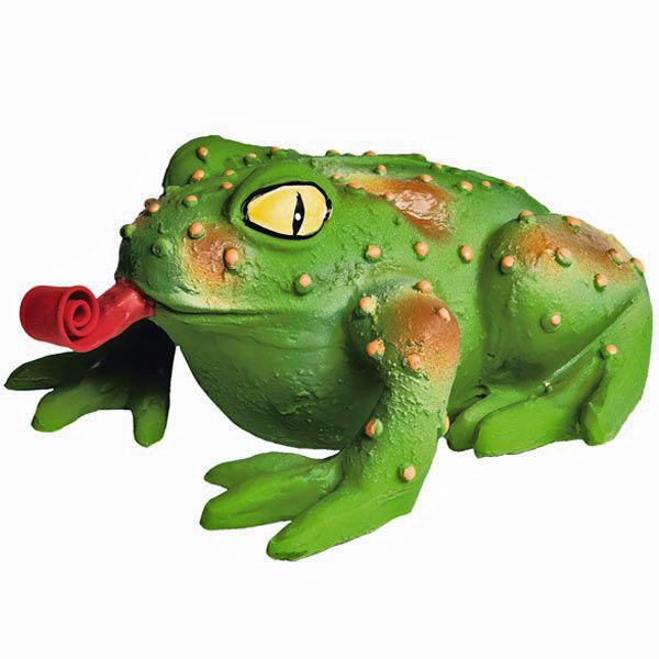 Squeeze Meeze Frog Dog Toy