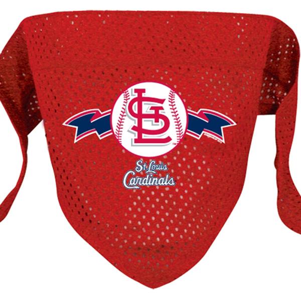 St. Louis Cardinals Mesh Dog Bandana