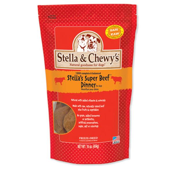 Stella's Super Beef Dinner Dog Treat - Freeze Dried