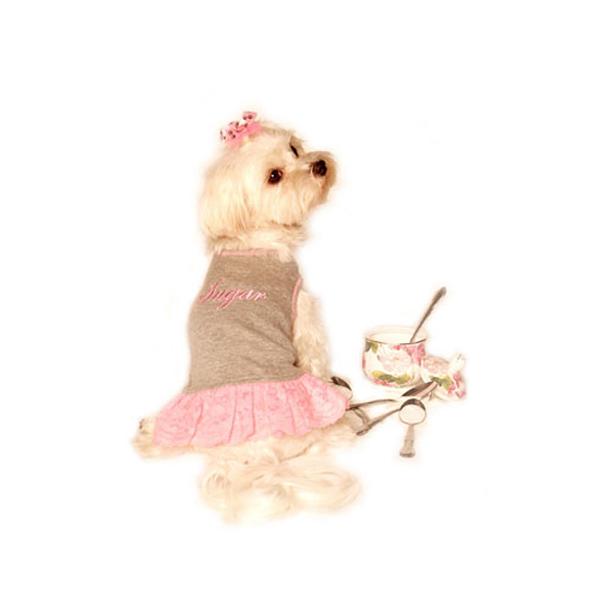 Sugar & Spice Design Dog Dress - Sugar