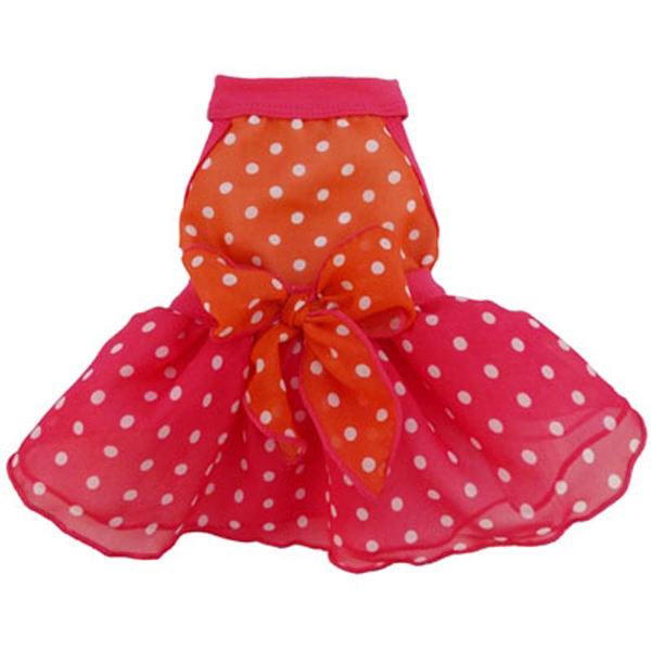 Summer Dots Dog Dress
