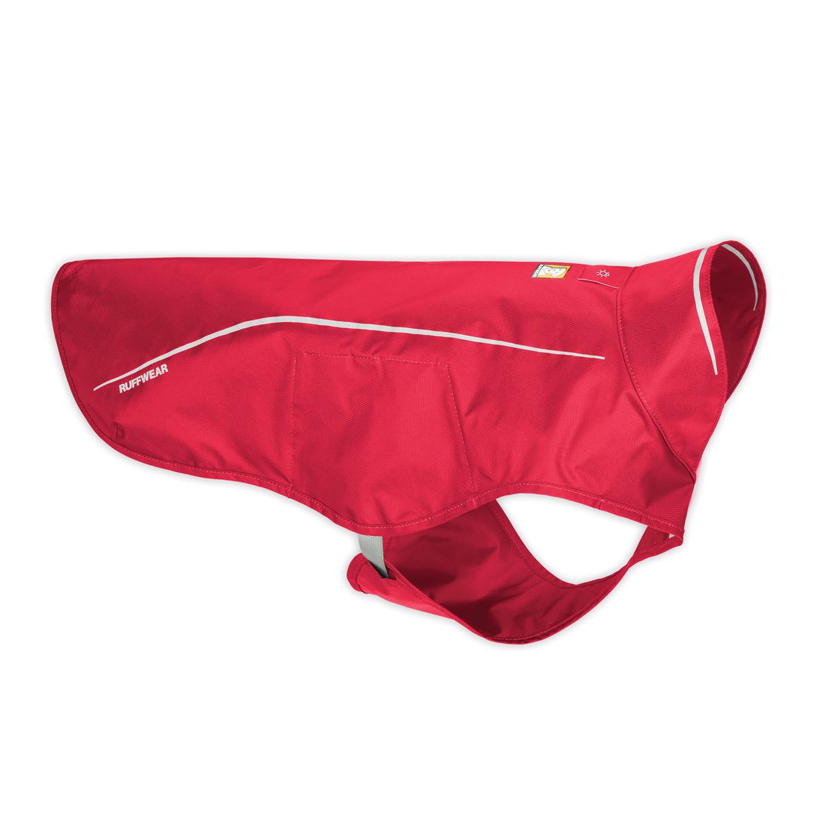 Sun Shower Dog Rain Jacket by RuffWear - Red Currant