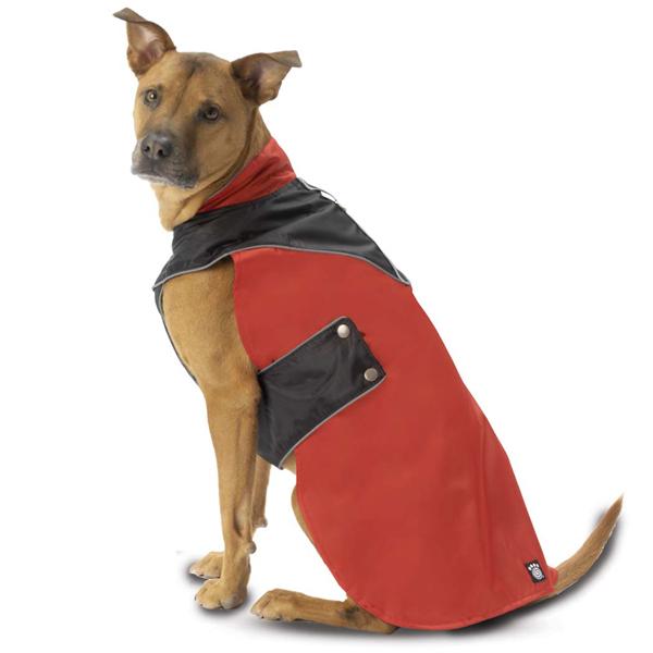Tacoma Dog Coat - Red and Black