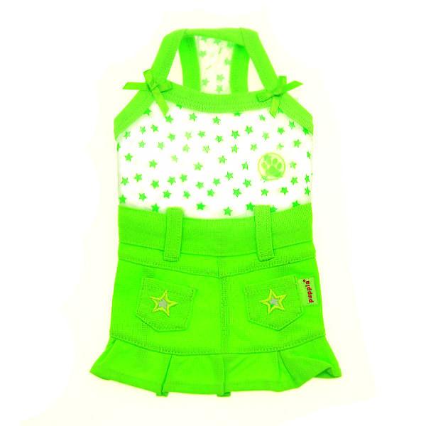 Taffy Dog Dress by Puppia - Green