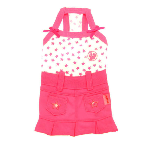 Taffy Dog Dress by Puppia - Pink