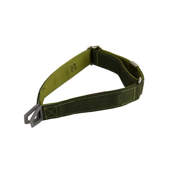 Tazlab Safe-T Stretch Adjustable Dog Collar - Gunk's Green