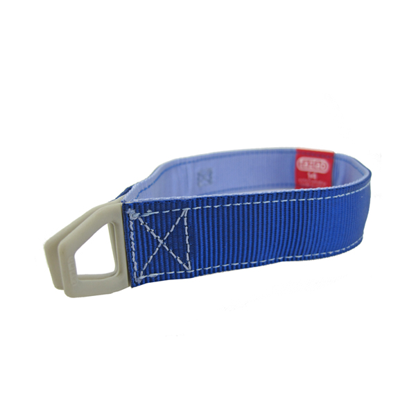 Tazlab Safe-T-Stretch Dog Collar - New River Blue