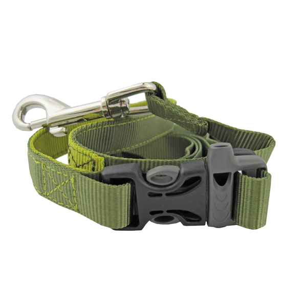 Tazlab Slide-Tech Dog Leash - Gunks Green