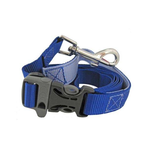 Tazlab Slide-Tech Dog Leash - New River Blue