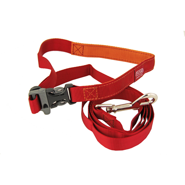 Tazlab Slide-Tech Dog Leash - Red Rocks Red