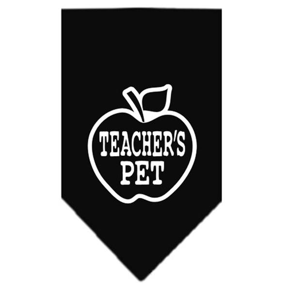 Teacher's Pet Dog Bandana - Black