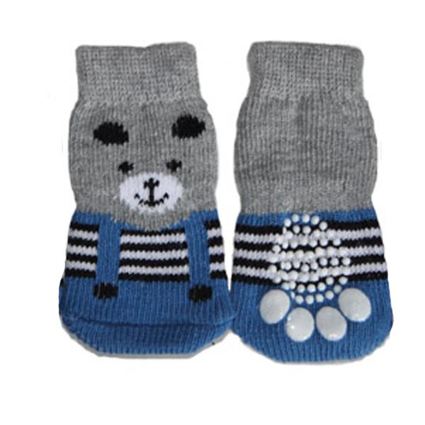 Teddy Bear Dog Socks