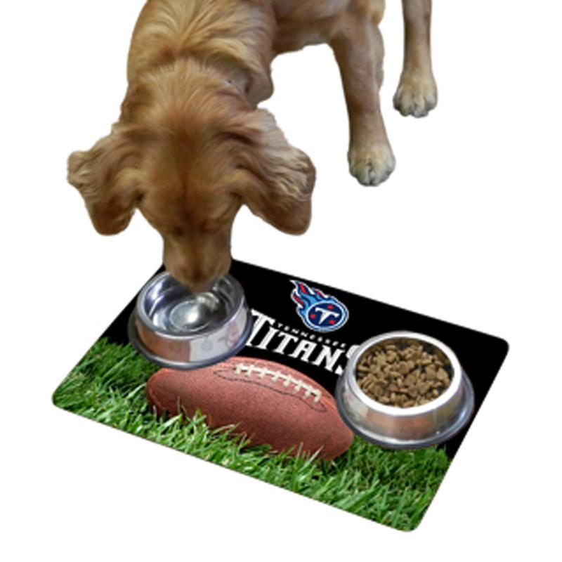 Tennessee Titans Pet Bowl Mat