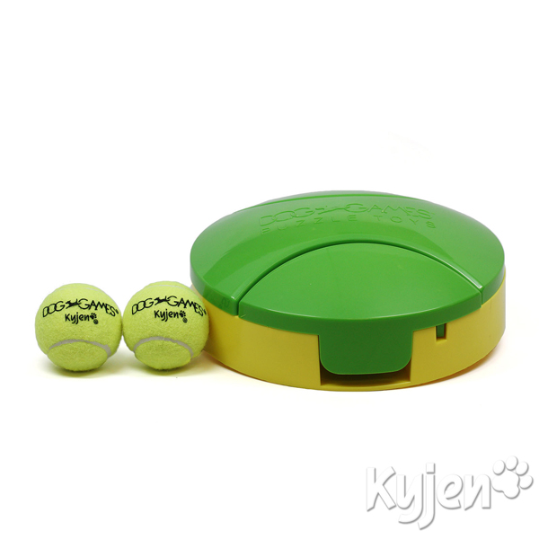 Tennis Slider Dog Toy